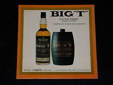 """45 Giri Sp - Scotch Whisky - Big """" T """" - Promozionale Carmona - 1968"""