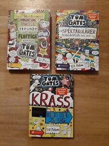 Tom Gates 3 Hardcover Bücher wie neu