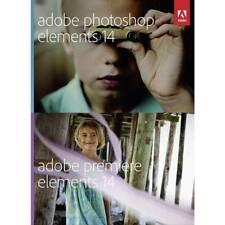 NUOVO E SIGILLATO-Adobe Photoshop Elements 14 & Premiere Elements 14-Pack Tedesco