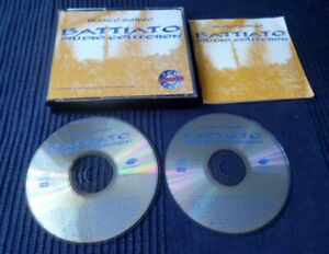 2xCD Franco Battiato - Studio Collection Best Of Greatest Hits Remastered EMI