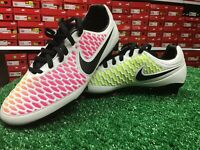New In Box Nike Magista Orden FG Soccer Cleats White / Multi Color Size 6.5