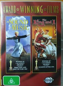 The Sound of Music + The King and I (DVD) 2 Disc - Very Good Condition