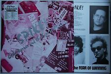 Cliff Barnes & Fear Of Winning Spike! LP + Inner + Toursticker