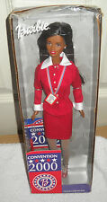 #1161 NIB Mattel 2000 Democratic National Convention African American Barbie