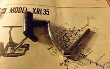 1 New Old Stock Zebco XRL35 Spinning FISHING REEL Handle DX-18-A