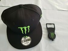 Monster Energy New Era 9Fifty Athlete Snapback Hat Cap & Bottle Opener **NEW**