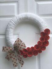Wreath Farmhouse Rustic Cottage Shabby Chic Romantic