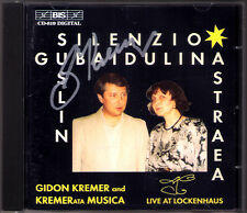 Gidon KREMER Signed GUBAIDULINA Silenzio Dancer on a Tightrope SUSLIN Capriccio