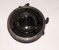 Carl Zeiss Jena Tessar 4.5/10 cm Large Format lens 6x9 cm COMPUR shutter