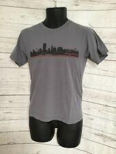 American Apparel Custom Ink - AngelPad - Gray T-Shirt Combed Cotton Size S