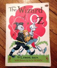 Book: The Wizard of OZ: L. Frank Baum: 1956 Reilly & Lee Co. vintage paperback