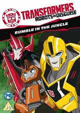Transformers: Robots in Disguise - Rumble in the Jungle DVD (2016) REGION 2 UK