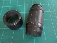 Tamron 100-300 1:5-6.3 avec Filtre 55 mm et 102FH Lens Hood-Minolta AF Mount.
