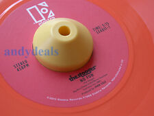 """1 New Yellow Dome Universal Plastic 45 RPM 7"""" Record Adapter Easy Quick Change"""
