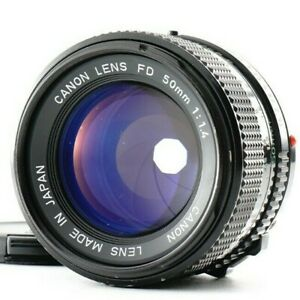 Excellent Canon New FD NFD 50mm f/1.4 MF Standard Lens From JAPAN