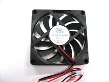 Brushless PC Cooler Cooling Fan DC 12V 80x80x10mm 2-Pin : 80mm x 10mm