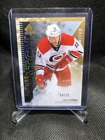 2013-14 UD SP Authentic Future Watch Limited Jared Staal Rookie /25 Gold & Black
