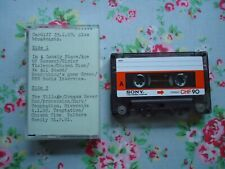 New Order Live at Cardiff 29th January 1983 Cassette Tape + Radio Interviews