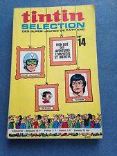 tintin sélection no 14 EO 1972 196 pages récits complets BD ancienne