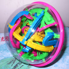3D Space Traveller Intellect Ball Balance Maze Game Puzzle 118 Barriers L 17cm