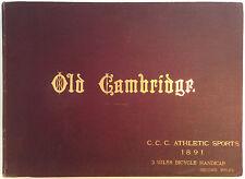 Old Cambridge - Scarce 1876 W B Redfarn Illustrated Survey Hardback