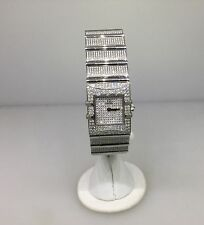 OMEGA CONSTELLATION LIMITED EDITION ALL PAVE DIAMOND LADIES WATCH 1529.95 NEW!!!