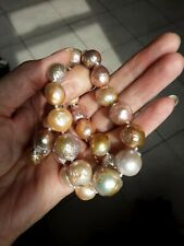 Ming Pearl Necklace 15mm Pearls