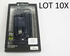 NEW Sealed LOT 10x Mophie JPA-IP5-BLK 1700mAh Juice Pack iPhone 5 Battery Case