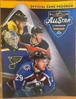 2020 ALL STAR GAME PROGRAM NATIONAL HOCKEY LEAGUE NHL SEE EBAY STORE PUCK PATCH