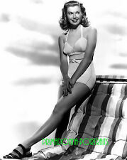 DORIS DAY 8X10 Lab Photo 1940s Sexy Youthful Bikini, Leggy Publicity Portrait