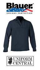 New Blauer Dark Navy Polyester ArmorSkin Winter Fleece Base Shirt - 8373