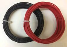 50 FEET AUTOMOTIVE PRIMARY WIRE 16 AWG HIGH TEMP GXL WIRE BLACK + RED  25 FT EA