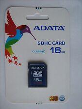 16GB SD SDHC Class 4 card AData ASDH16GCL4-R memory New