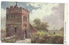 CHESTER - KING CHARLES' TOWER Artist Hadfield CUBLEY 1905 Tuck Postcard