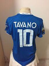 Maglia calcio Empoli 2012 13 n 10 Tavano match worn jersey shirt trikot maillot