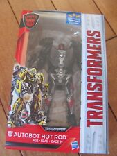 Transformers The Last Knight AUTOBOT HOT ROD Walmart Exclusive Deluxe Class NEW