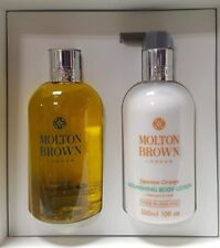Molton Brown Bushukan Body Wash & Japanese Orange Body Lotion 300ml Gift Set U/B