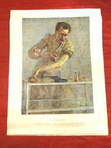 Stampa originale Emilio BESTETTI L'eroe di Amisani edizioni d'arte Milano 1940-1