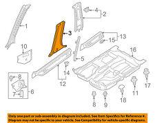 MAZDA OEM 01-03 Protege-Center Pillar Trim Right B30D6822080