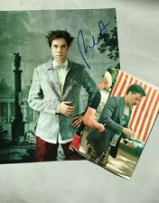 RUFUS WAINWRIGHT in-person 2019 signed autograph 8 x 10 + proof photo