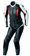Women BMW Racing Motorbike Leather Suit Biker Motorcycle Leather Jacket Trouser