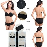 Brand New Wonderbra Underwired Invisible Strapless Push Up Bra Various size BCD
