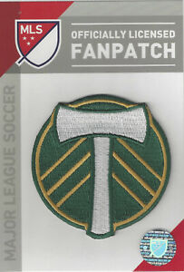 """Portland Timbers MLS Soccer Patch 2 3/4"""" Round Sew On Iron On Official Futball"""