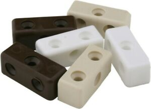 Pack of 100x Standard Modesty Blocks 3 Colours Available Black White Beige
