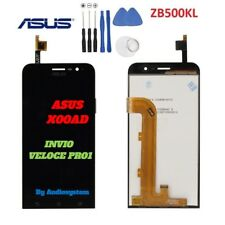 "DISPLAY LCD+TOUCH SCREEN+TOOLS per ASUS ZENFONE GO 5"" ZB500KL X00AD VETRO NERO"