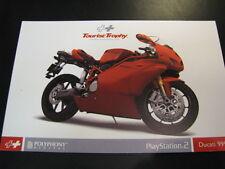 Ducati 999R post card (PlayStation 2)