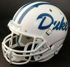 DUKE BLUE DEVILS 1981-1984 Schutt AiR XP Authentic GAMEDAY Football Helmet