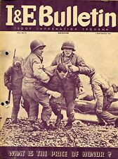 Troop i&e Bulletin (US) 1946 no 1: what is the price of Honor?