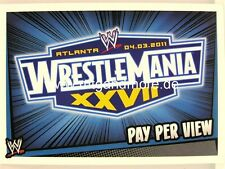 Slam Attax Rumble-WrestleMania XXVII-Pay Per View