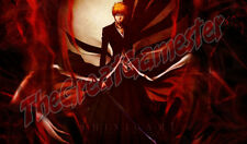 Ichigo Shinigami with Hollow Mask Custom Playmat / Game Mat / Mat #37